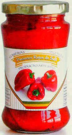 Pimientos rojos de Suflí